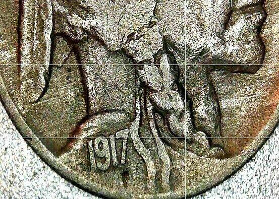 Buffalo Nickel 1917, 1918 and 1919 AA20BN-CN6075