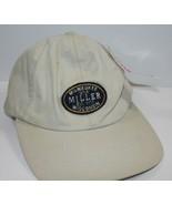 Baseball Cap Miller Beer Milwaukee Wisconsin Tan Strapback - $17.09