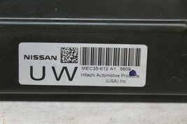 2005 Nissan Xterra 4x2 ECU ECM Computer BCM Ignition Switch W/ Key MEC35-612-A1 image 2
