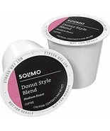 AMAZON BRAND 100 CT SOLIMO COFFEE PODS DONUT STYLE COMPATIBLE W 2.0 KCUP... - $34.88