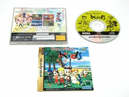 Sega Saturn VIRTUA FIGHTER KIDS Java Tea Original Japan - $15.35