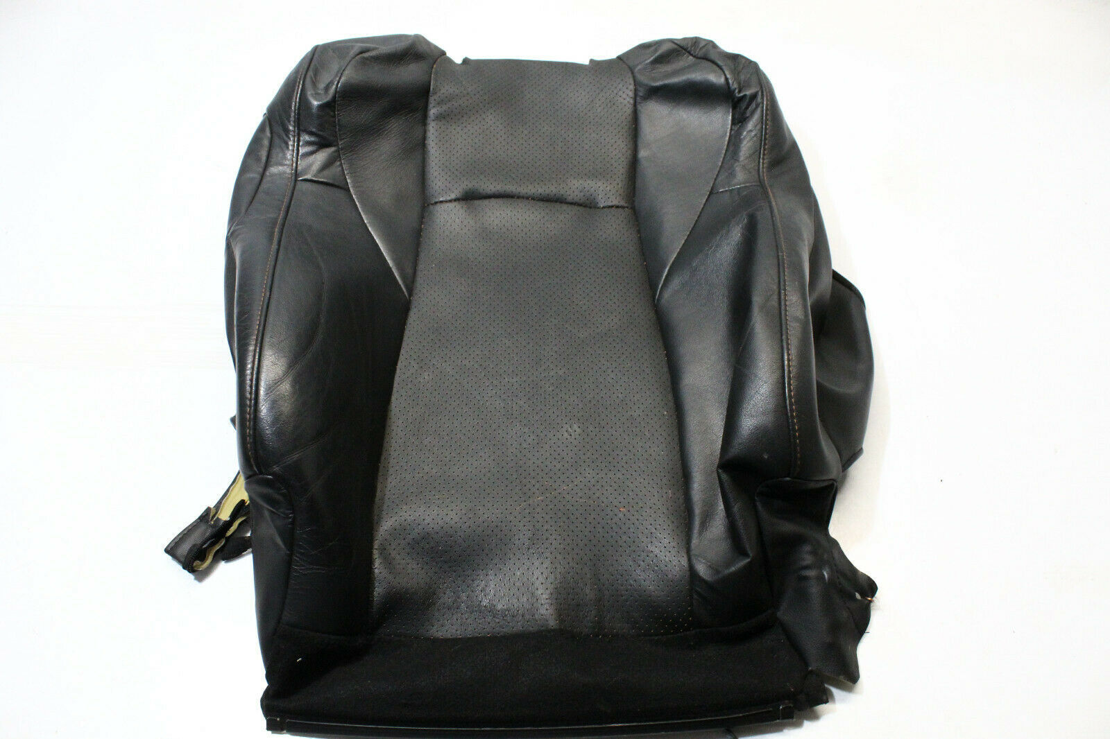 2004-2006 NISSAN 350Z ROADSTER FRONT RIGHT UPPER BACKREST SEAT COVER P3553 - $117.59