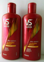 2 Vidal Sassoon Hydro Boost Moringa Oil Shampoo For Dry Brittle Damage H... - $34.64