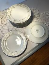 "Sheffield China Classic 501 10 3/4"" Dinner Plates (9) (IP3051Z) - $13.50"