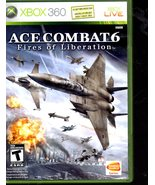 """Ace Combat 6 """"Fires Of Liberation""""  - XBOX 360 - $8.95"""
