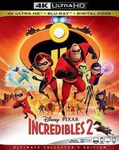 Disney Pixar Incredibles 2 [4K UHD + Blu-ray + Digital]