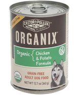 Organix, Grain Free Organic Chicken & Potato Canned Dog Food, 12.7 oz - $49.93