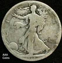 1918-S SanFrancisco Mint G Walking Half Dollar 50c 81310623 - $20.79