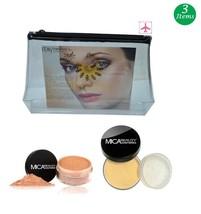 MicaBeauty Full Size Foundation MF2 Sandstone+Face & Body Bronzer+Cosmet... - $52.00