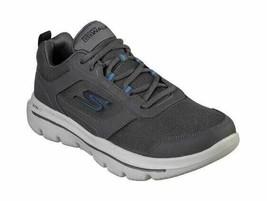 Men's Skechers GOwalk Evolution Ultra Enhance Walking Shoe Charcoal/Blue - $86.21