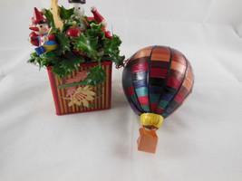 ??Meow REO Balsa Wood and Wheat Straw Christmas Ornaments Very nice work - $14.54