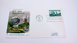 US FDC~1244~New York World's Fair~Unisphere~Fleetwood~PM1964 NY~Lot of 5 - $1.97