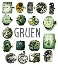 Gruen Pre Owned Watch Movement Verieties To Choose For parts or replacement - $7.69+