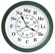 Chem Time Periodic Table Science Elements Wall Clock Bassam Shakhashiri ... - $25.95