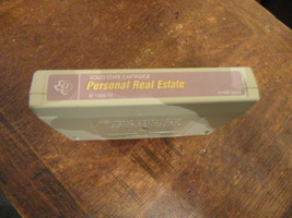 TI 99/4A Personal Real Estate tested cartridge mauve label productivity ... - $5.99