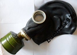 NBC USSR RUSSIAN RUBBER SOVIET GAS MASK Military GP-5 Black size's 0,1,2,3 - $2.96+