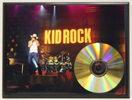 Kid Rock Limited Edition 24Kt Gold Award Quality Display - $56.95