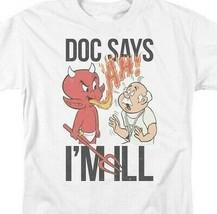 Hot Stuff Little Devil t-shirt Doc says Im ill retro comic graphic tee DRM347 image 2
