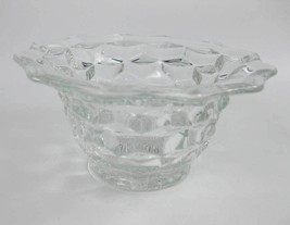 "Vintage Fostoria American Clear Footed Bowl/Dish Flaired Rim 6"" - $5.00"