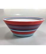DKNY Lenox Urban Essentials Cherry Red Porcelain All Purpose Bowl 24 oz NEW - $33.81