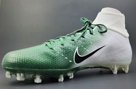 Nike Vapor Untouchable Pro 3 Football Cleats White Green AO3021-113 Sz 12.5 - $65.41