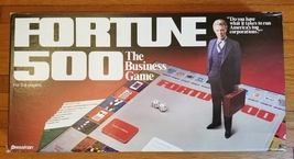FORTUNE 500 BUSINESS GAME 1980 PRESSMAN TOY COMPLETE NIB NEW IN BOX UNPL... - $30.00