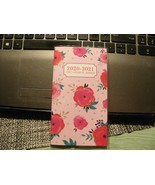 "5#P     2020-2021 Colorful Floral 2 Year  Pocket Planner Calendar 6"" x 3.5"" - $4.94"