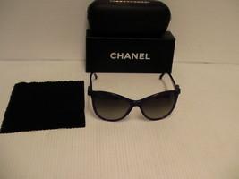 Chanel New Sunglasses 5281 1463/s8 womens purple frame cat eye new - $232.60