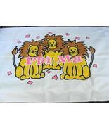 Phi Mu Lions Pillowcase Vintage - $16.00