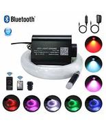 AKEPO 16W Fiber Optic Lights Star Ceiling Light Kit APP Control for Car ... - $50.99