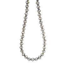 Crystal Bicone Necklace image 3