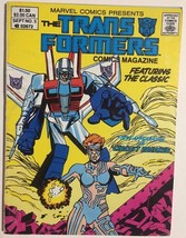 TRANSFORMERS #5 (1987) Marvel Comics digest VG+... - $9.89