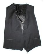 New NWT Mens 38 Vest Designer Italy Dolce & Gabbana Wool Silk Black 48 N... - $445.00