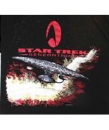 1994 Star Trek Next Generation XL T-Shirt Fruit of the Loom Premium T  - $34.09