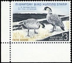 RW31, Mint VF NH $3 DUCK Stamp Corner Margin Copy Cat $100.00 - Stuart Katz - $55.00