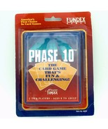 PHASE 10 VINTAGE Card Game by Fundex Games 1992 Version NEW SEALED 8220 - £20.17 GBP