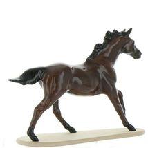 Hagen Renaker Miniature Horse Thoroughbred Seabiscuit Ceramic Figurine Boxed image 7