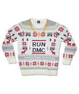 Run DMC-Logo-X-Large Ugly Christmas Sweater - $36.76