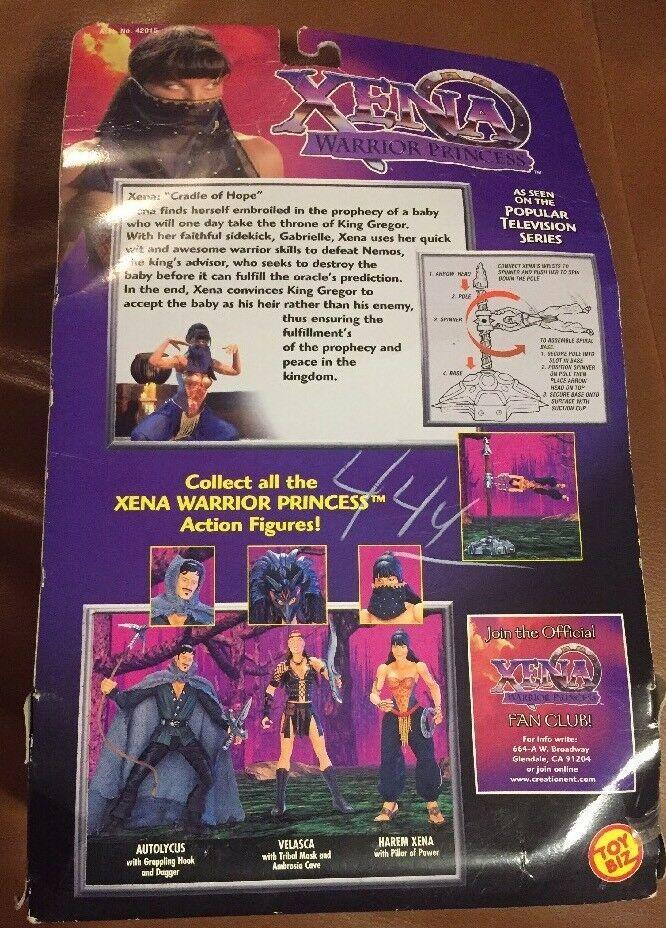 Xena 1998 Toy Biz Warrior Princess Harem Xena Action Figure