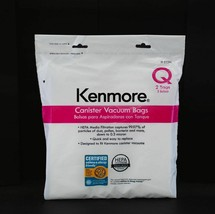 Kenmore 53291 2 Pk. Style Q HEPA Vacuum Bags for Canister Vacuums - $23.05