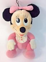 "Hasbro Minnie Mouse Babies Soft TOy 1984 Disney Plush Stuffed Animal 9"" - $24.11"