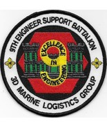 USMC 9th Engineer Support Battalion Patch NEW!!! - $11.87