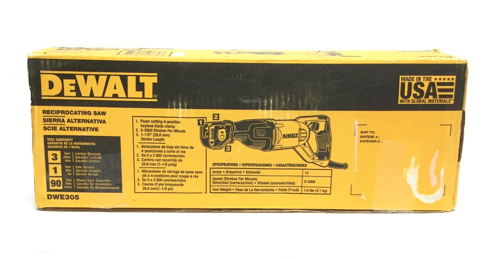 Dewalt Corded Hand Tools Dwe305 image 2