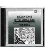 English Songs of the Middle Ages [Audio CD] Sequentia, Ensemble for Medi... - $8.91