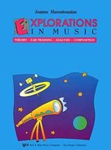 Explorations in Music Book 2, with CD [Sheet music] Joanne Haroutounian - $12.58