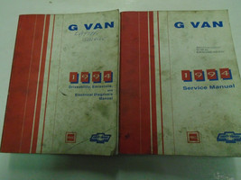 1994 chevy express van gmc savana g vandura shop service repair manual set - $14.97
