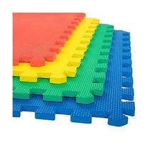 Stalwart Foam Mat Floor Tiles, Interlocking EVA Foam Padding Multi-Color... - $22.86