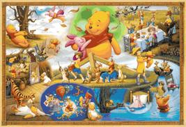 Counted Cross Stitch winnie the pooh party scene pdf 441 * 303 stitches BN1725 - $3.99