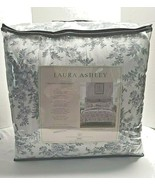 Laure Ashley 7 Piece King Complete Bedding Set 100% Cotton Annalise Flo... - $147.50