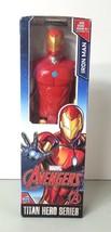 """Hasbro Marvel Avengers Iron Man Action Figure Doll 12"""" Titan Hero Series... - $9.69"""